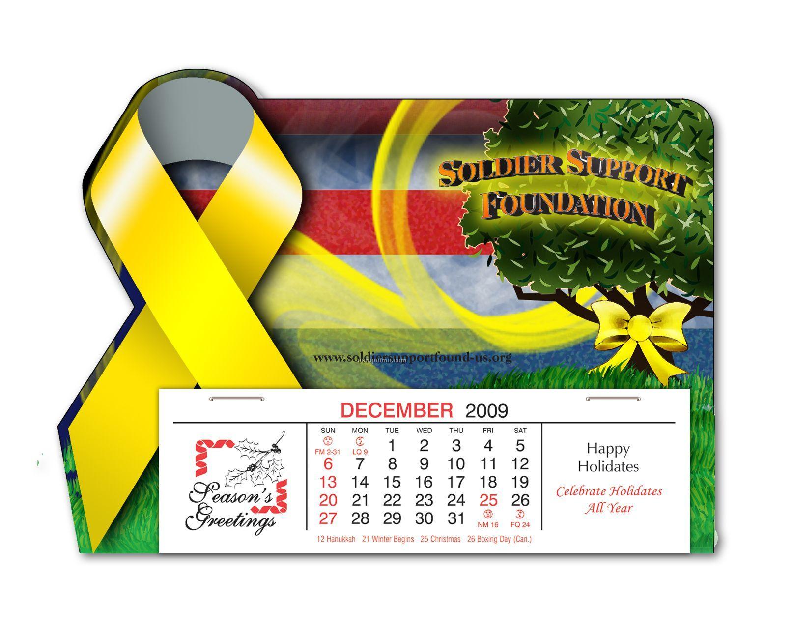 Custom Full Color Awareness Ribbon Calendar