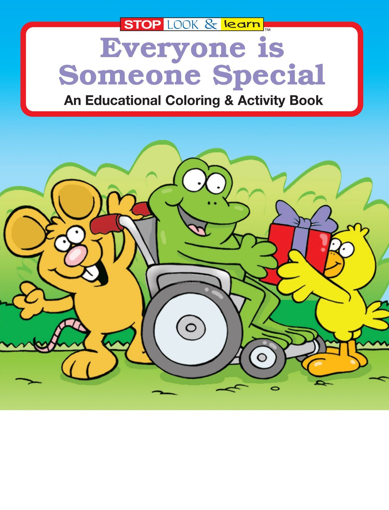 Everyone Is Someone Special Coloring Book