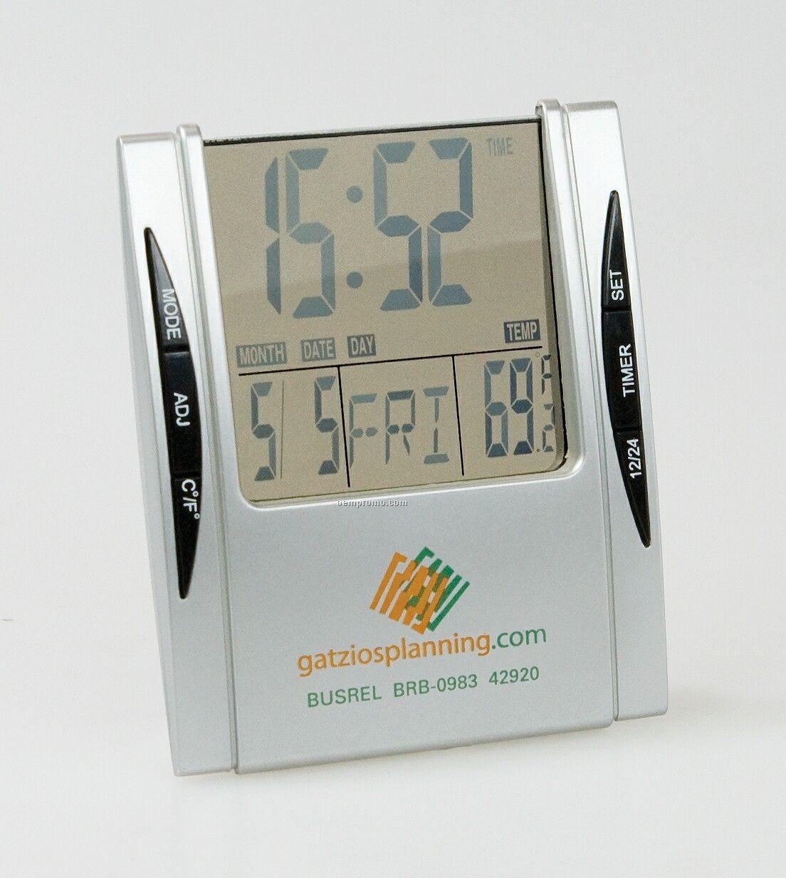 Digital Clock W/ Temperature Display