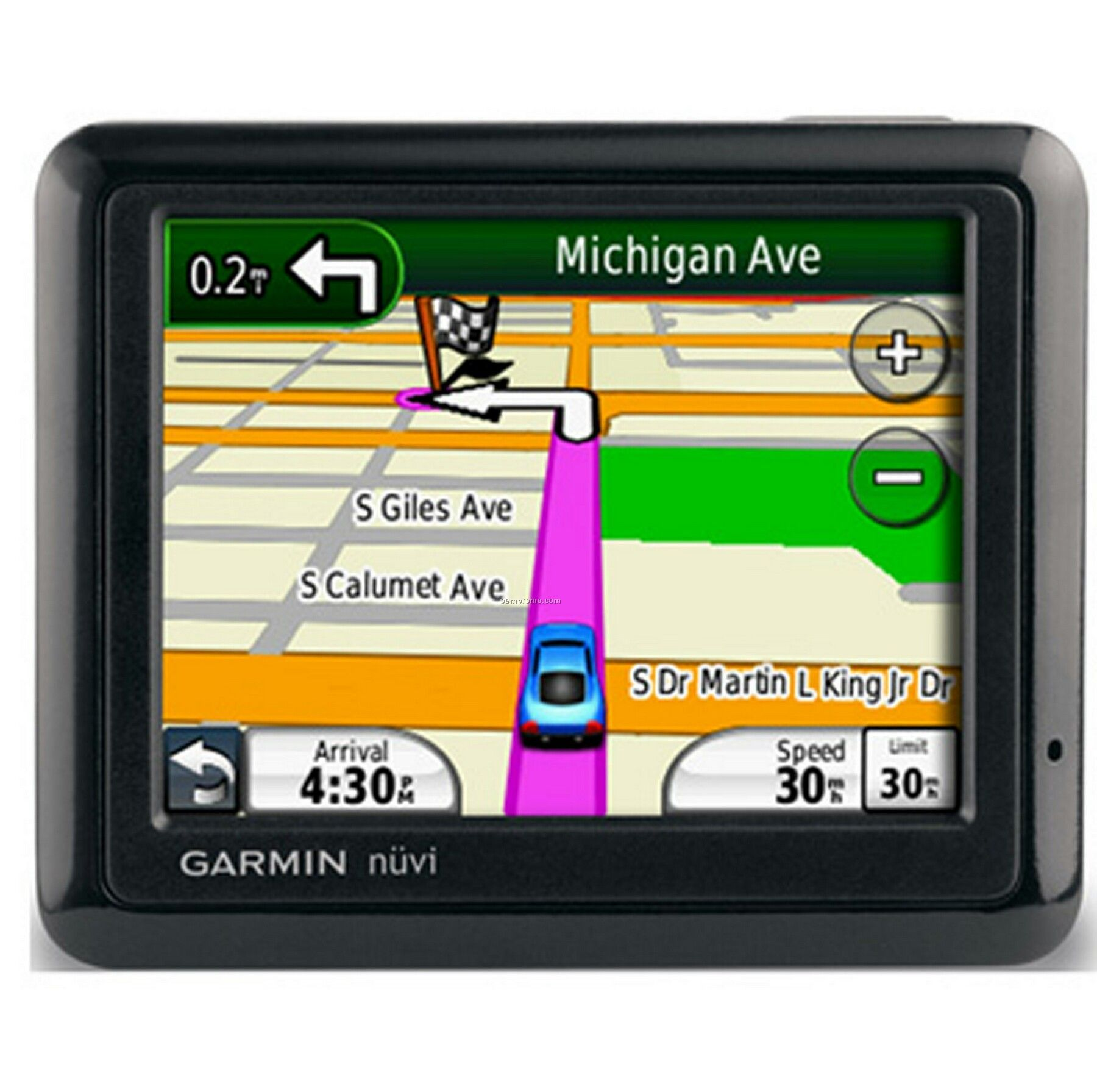 Garmin Nuvi 1260t Gps Vehicle Navigation System Bluetooth Enabled