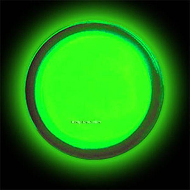 Green Circle Glow Badge