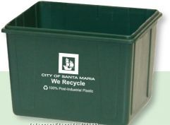 Mini Recycle Bin (1 Color/2 Sides)