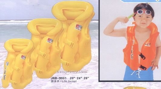Inflatable Swimming Vest Jacket