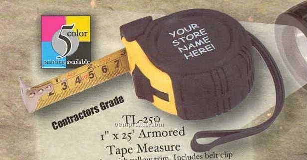 """1"""" X 25"""" Armored Tape Measure"""