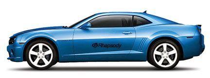 "1/24 Scale 7"" Remote Control Car 2010 Chevrolet Camaro Ss Rs."