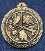 "2.5"" Stock Cast Medallion (Arts & Crafts)"