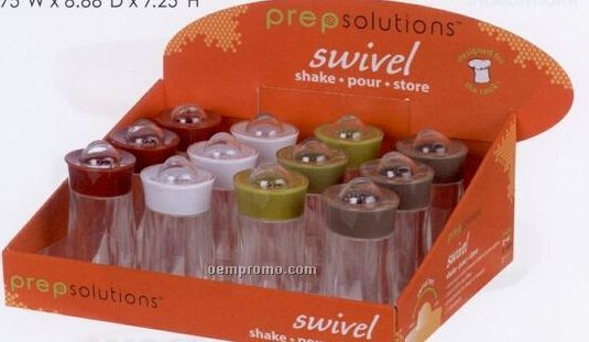 Swivel Shakers Set Counter Display Unit