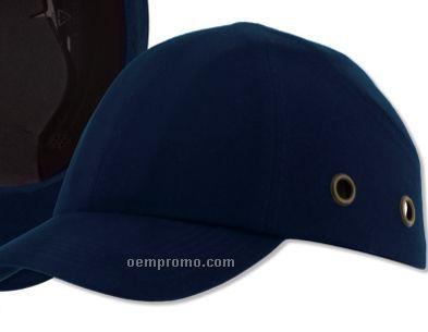 Ball Cap Bump W/ Cotton Covering & ABS Shell - Dark Blue