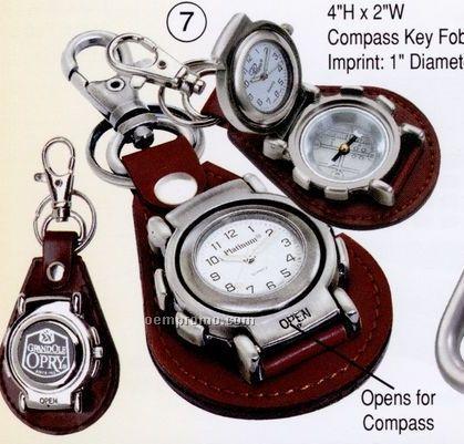 Compass Key Fob Watch