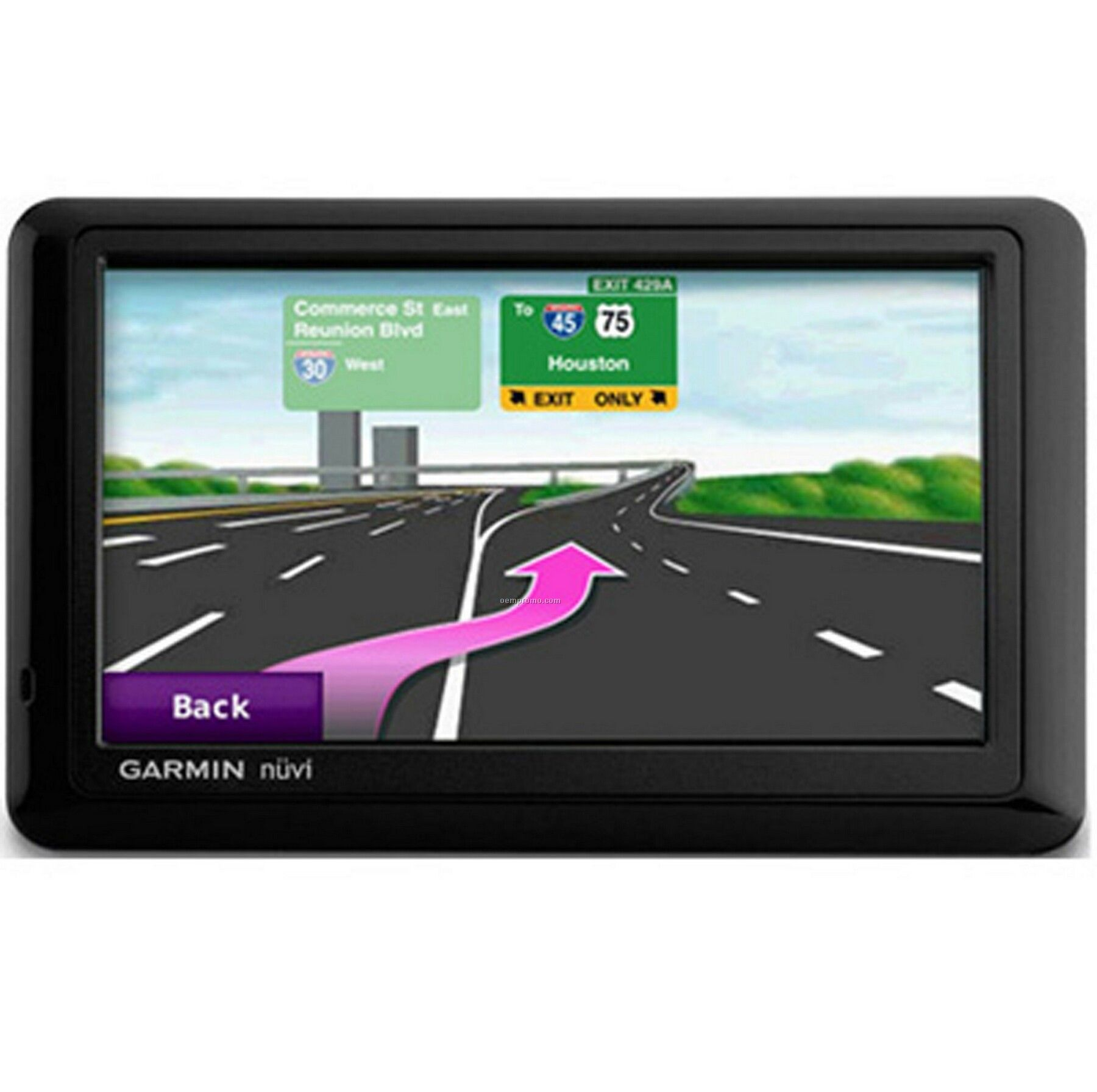 Garmin Nuvi 1490t Gps Vehicle Navigation System Bluetooth Enabled