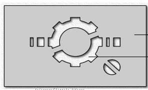 101 To 125 Sq. In. Custom Laser Cut Polystyrene Stencil