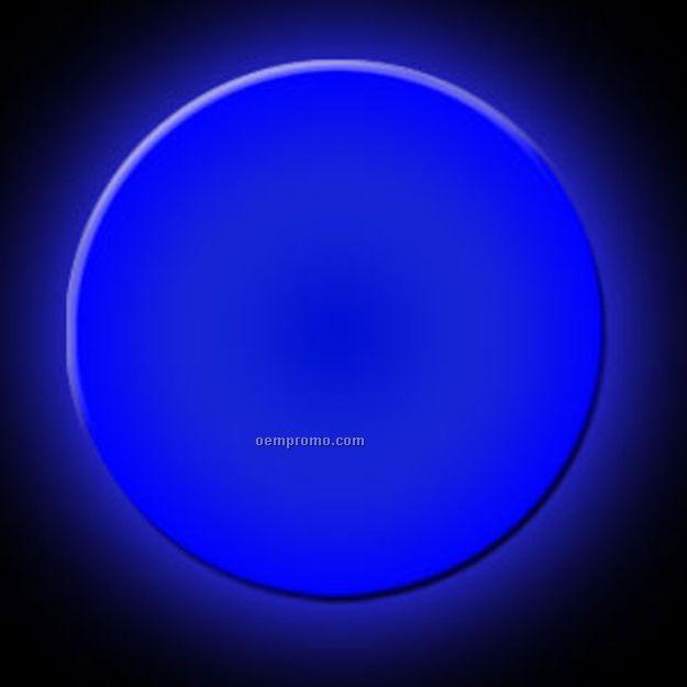 Blue Small Circle Glow Badge