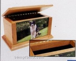 Large Alder Pet Urn / 73 Cubic Inches