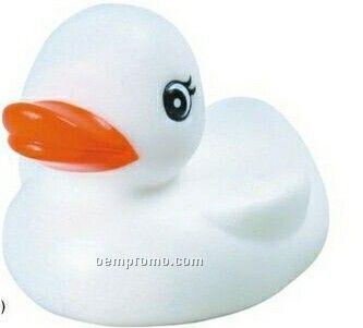 Snow White Rubber Duck