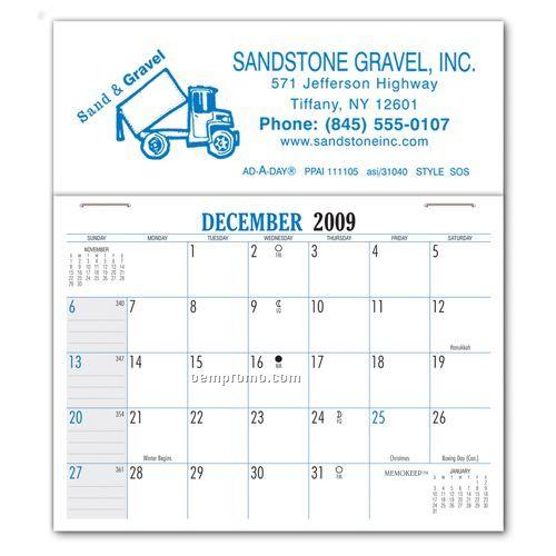 Sos Standard Sos Peel-n-stick Calendar