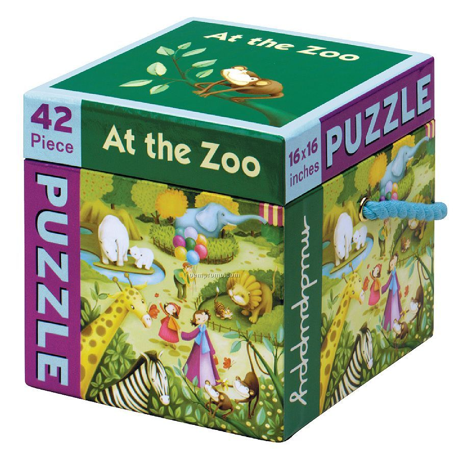 At The Zoo 42-piece Puzzle
