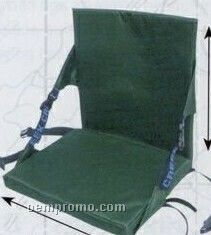 Imported Folding Collapsible High Back Aluminum Arm Chair