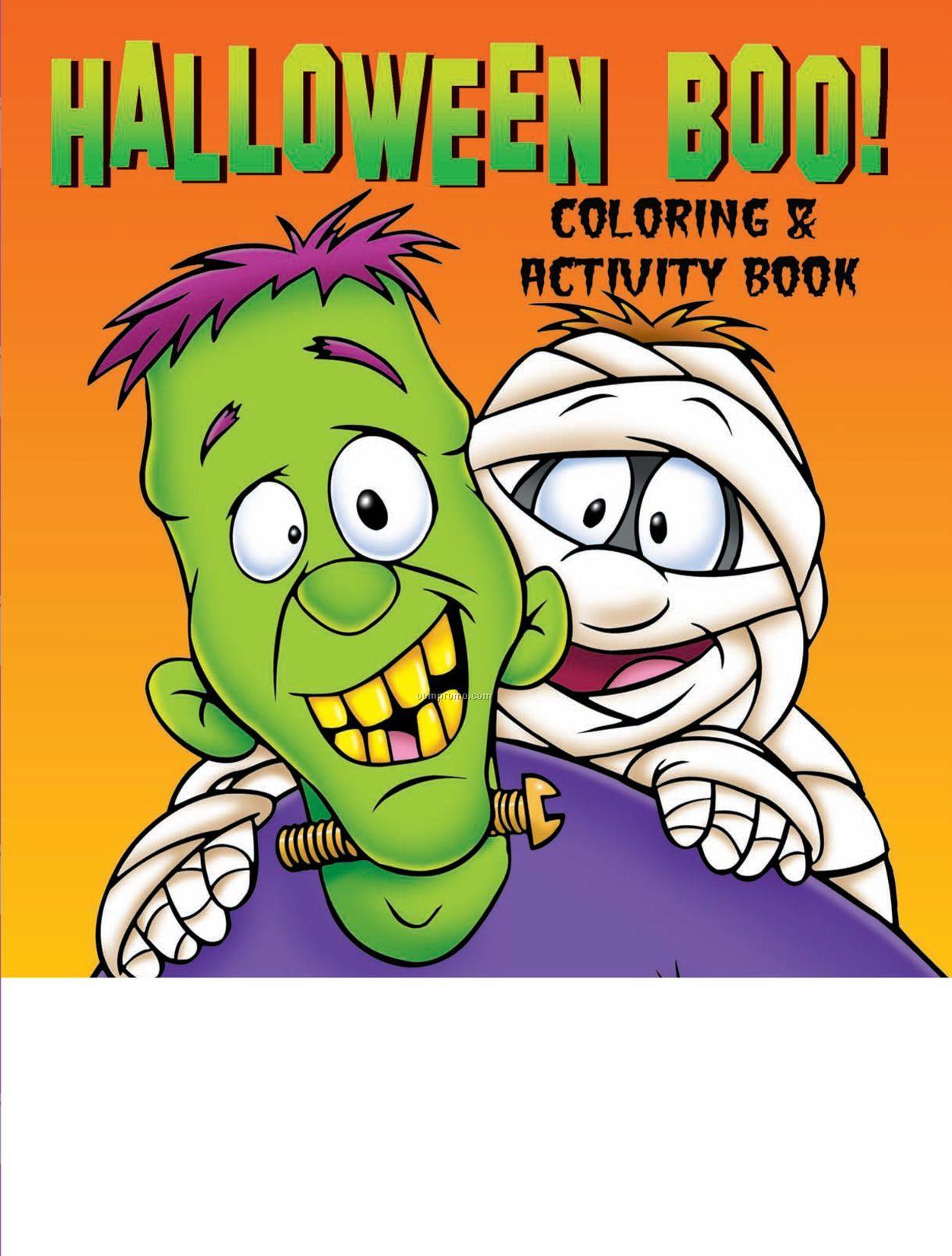 Halloween Boo! Coloring Book
