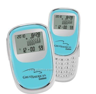 Push N Slide Travel Alarm/Calculator