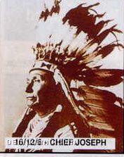 "11""X14"" Early American Tin Type Print - Chief Joseph"