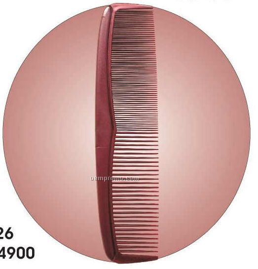 Comb Acrylic Coaster W/ Felt Back