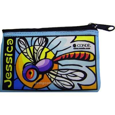 Full Color Rectangle Coin Purse