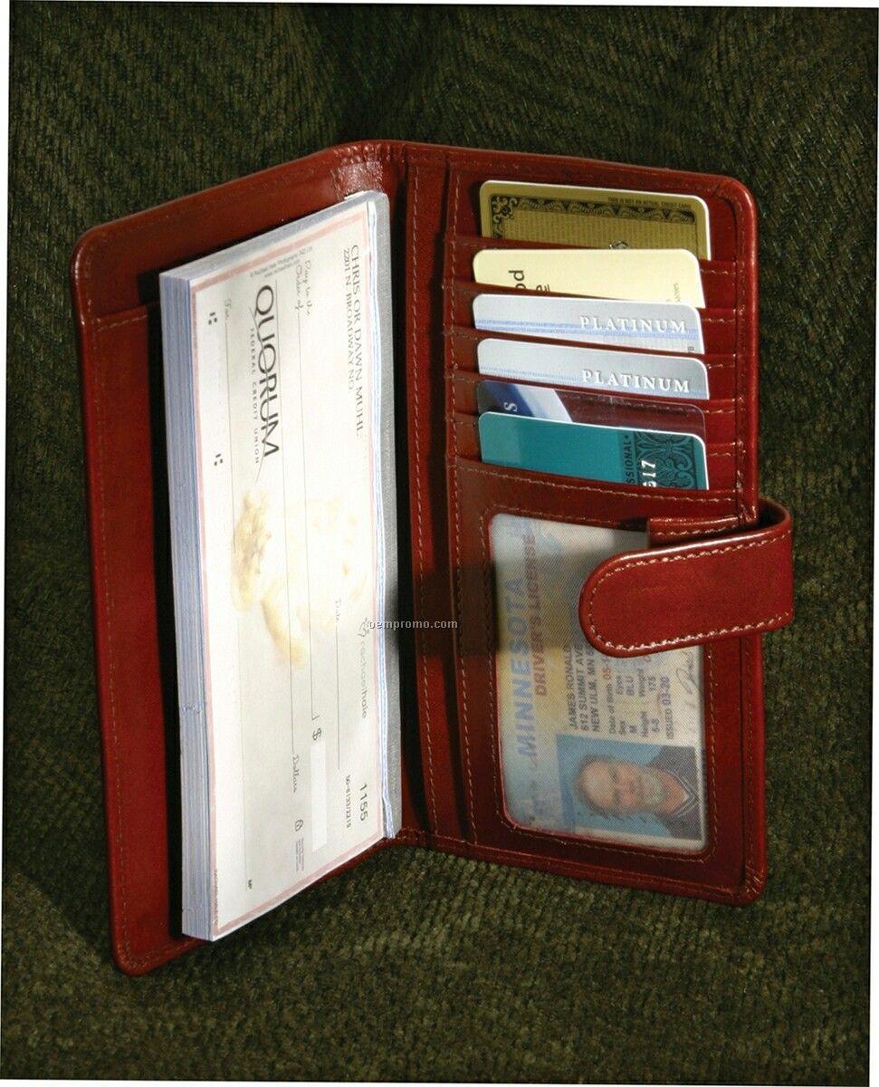Martha's Vineyard Women's Checkbook Wallet
