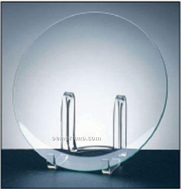 Palace Award Plate On Acrylic Stand-jade Glass.