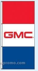 Single Face Dealer Interceptor Drape Flags - Gmc