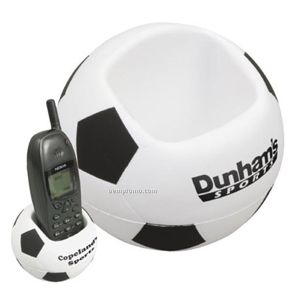 Soccer Cell Phone Holder Stress Reliever