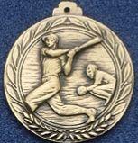 """2.5"""" Stock Cast Medallion (Baseball/ Male 2)"""