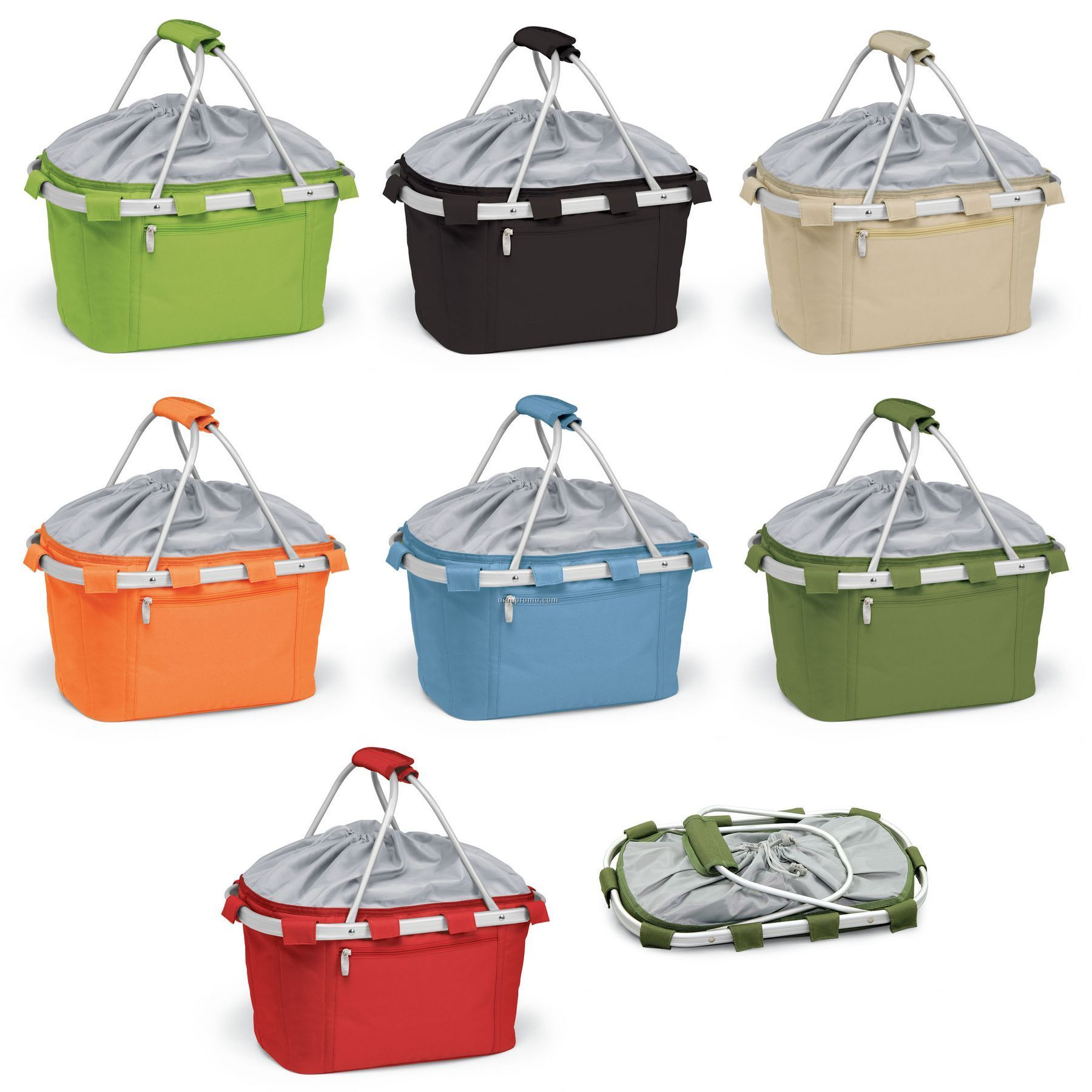 Metro Picnic Cooler Basket / Solid Colors (26 Can Capacity)