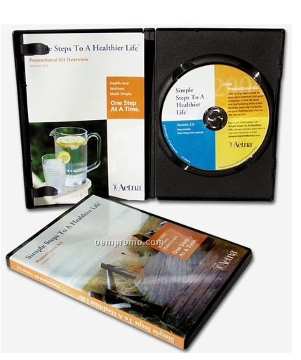 DVD Package With DVD In Amaray Case