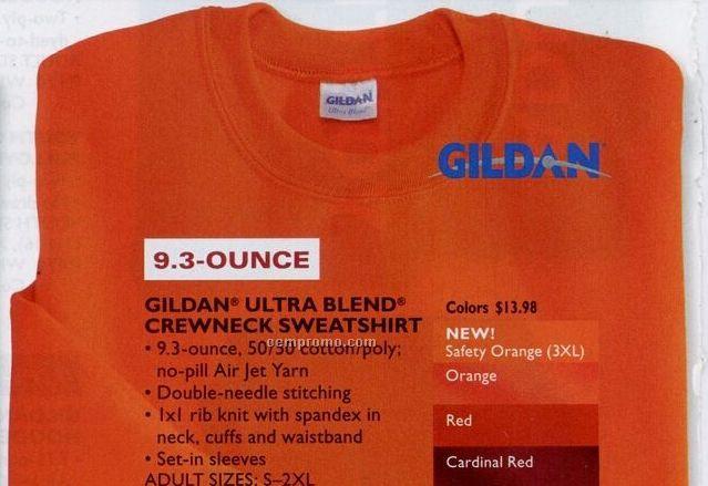 Gildan Ultra Blend Crew Neck Sweatshirt (S-2xl)