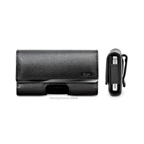 Iluv -leatherette Case With Clip For Iphone 4 Cdma