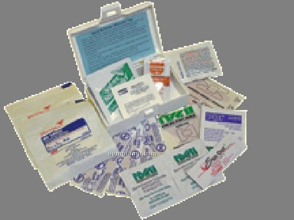 Personal Traveler First Aid Kit - Imprinted