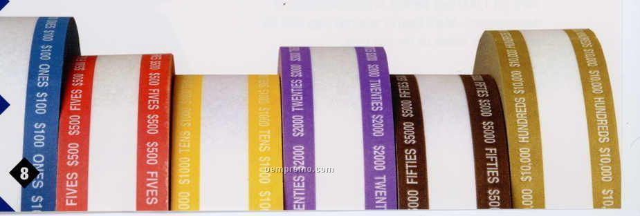$20.00 Aba Currency Band Rolls ($2000 Volume)