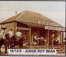 "11""X14"" Early American Tin Type Print - Judge Roy Bean"