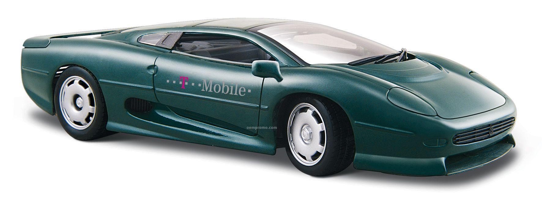 """7""""X2-1/2""""X3"""" Jaguar Xj220 Sports Car Die Cast Replica"""