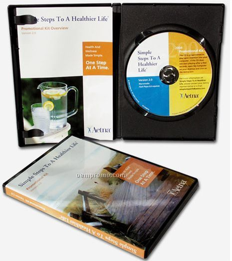 Amaray Case And CD Rom Combo Package