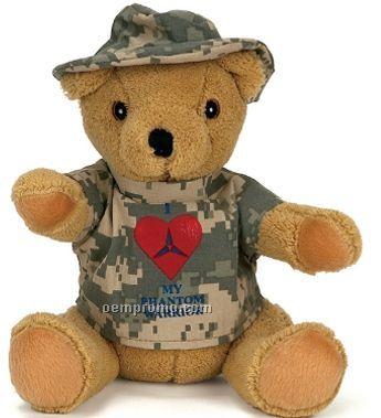 Digital Camouflage Bear Uniform
