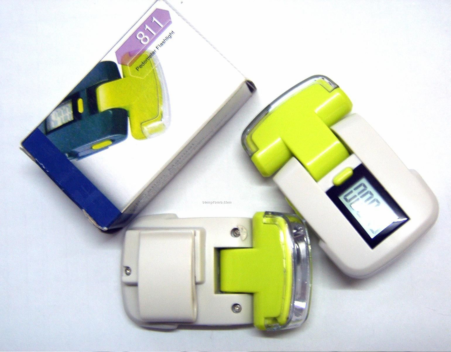 Pedometer With LED Light