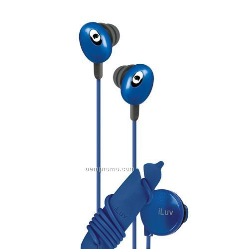 Iluv In-ear Stereo Earphone With Volume Control