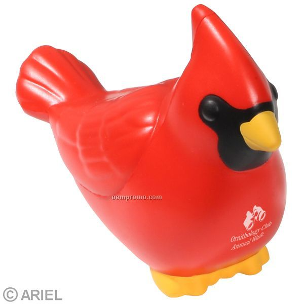 Cardinal Squeeze Toy
