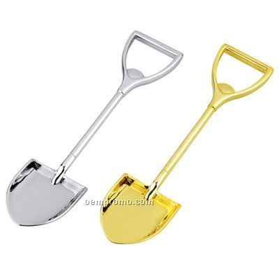 Gold Metal Shovel Bottle Opener