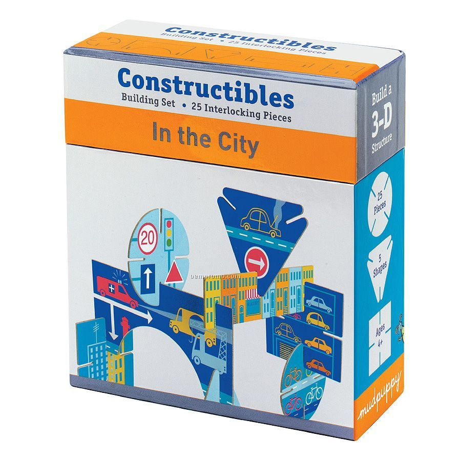 In The City Constructibles Building Set