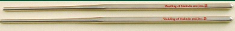 Metal Chopsticks In Cello Wrapper