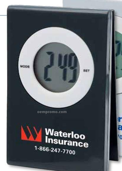 Note Holder W/ Clock