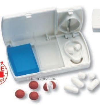 Travel Pill Box/Splitter (Printed)