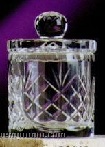 """5-1/2"""" Crystal Cookie/ Candy Barrel"""